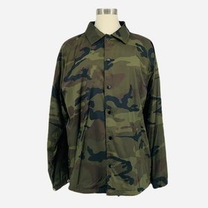 Men's Zumiez ZINE Army Fatigue Coach Jacket